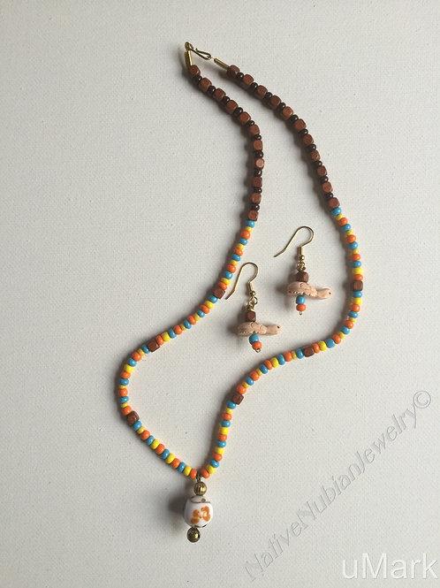 """Ada Ora- 22"""" Necklace Set"""