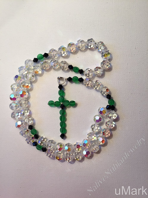 Classic Crystal Rosary