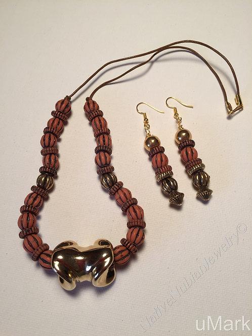 """Ifeanyi- 20"""" Necklace Set"""