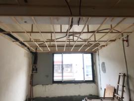 木工天花板施工