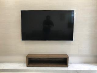 壁掛電視暗管設計
