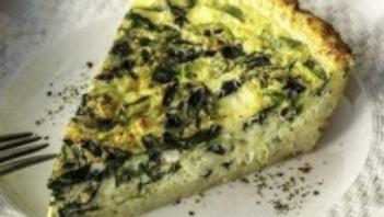 Spinach Feta Pie Food Special