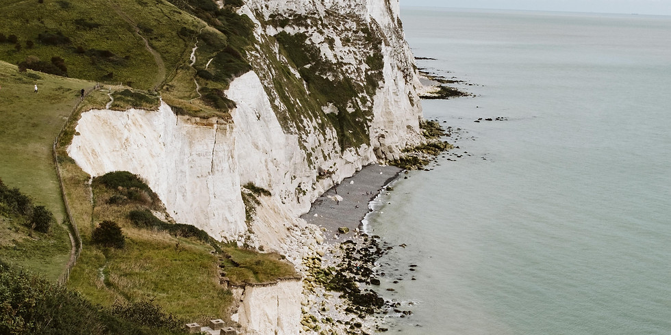 Deal to Dover, KENT - iconic clifftop walk and a pint at the pub