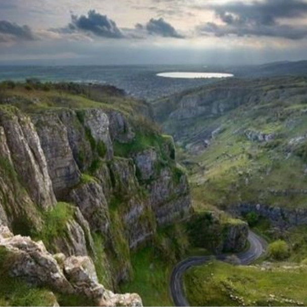 Cheddar Gorge (Canyon) & Cheddar Cheese - hike and day trip