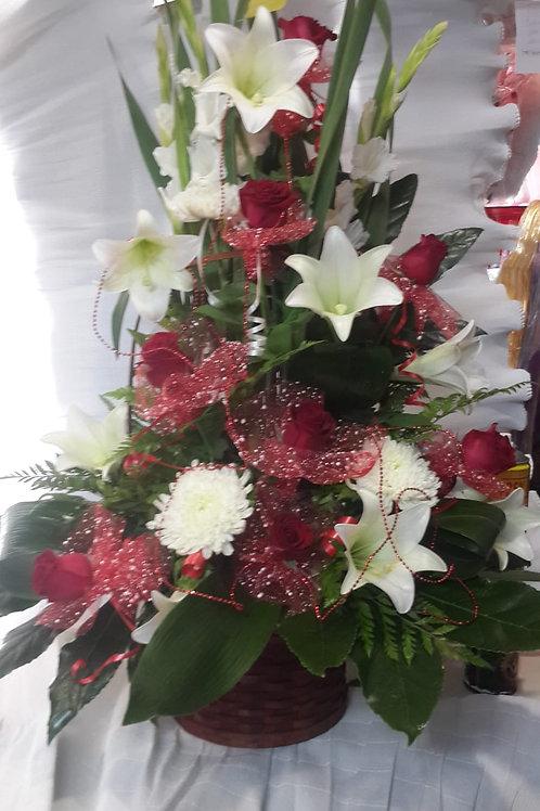זר פרחים מס' 21