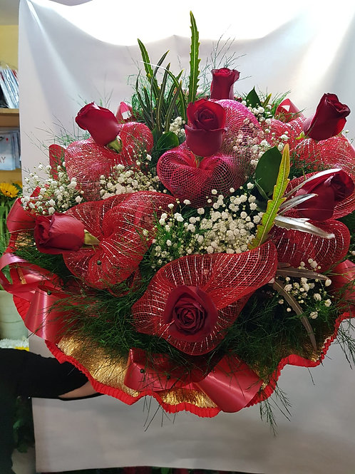 זר פרחים מס' 11