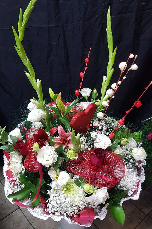 זר פרחים - מס' 1