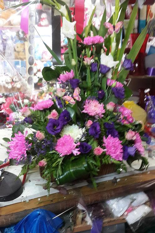סידור פרחים מס' 81