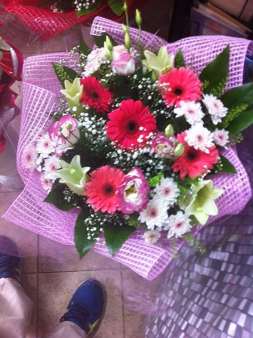 זר פרחים מס' 39