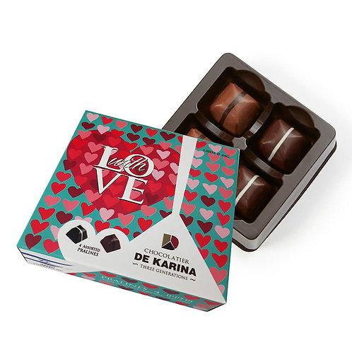 שוקולד DE KARINA - LOVE