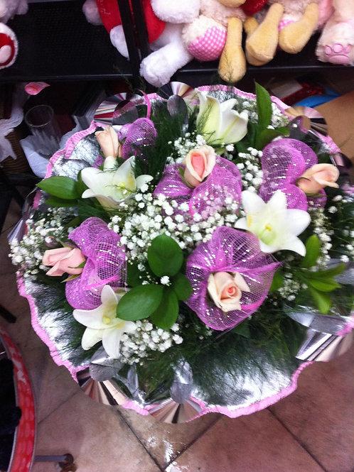 זר פרחים מס' 31