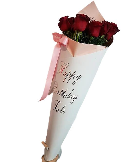 זר פרחים מס' 24