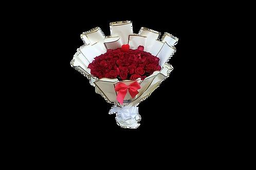 זר פרחים מס' 44