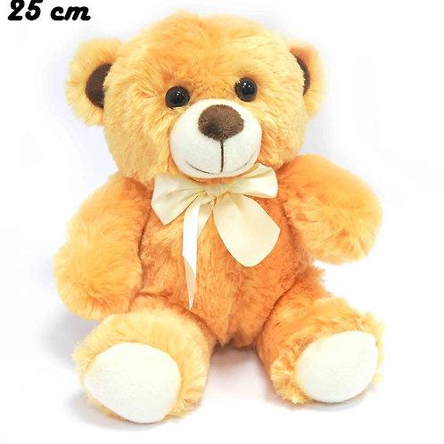 דובי חום עם עניבה לבנה