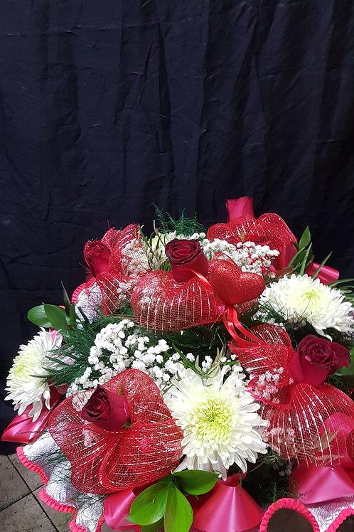 זר פרחים מס' 42