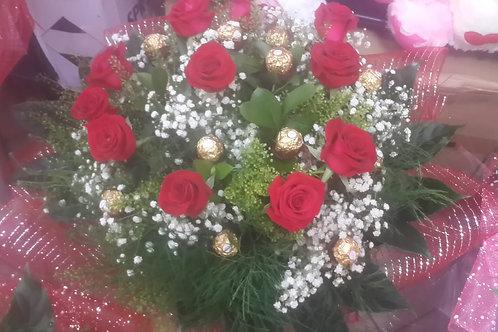 זר פרחים מס' 17