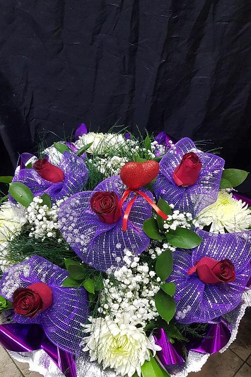 זר פרחים - מס' 5