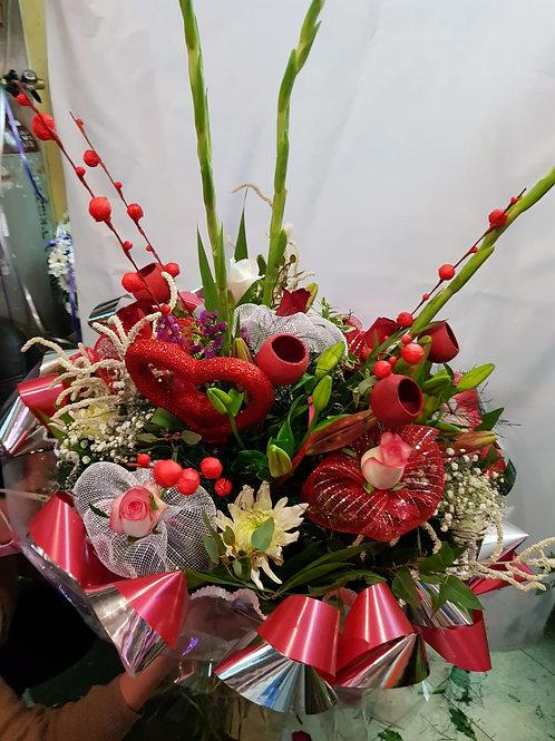 זר פרחים מס' 10