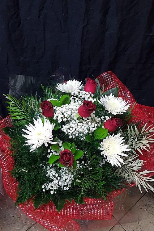 זר פרחים מס' 36
