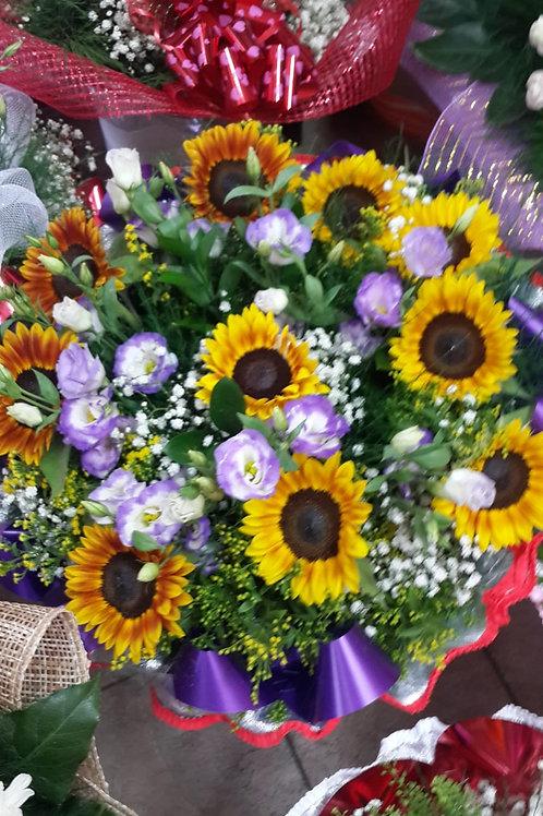 זר פרחים מס' 13