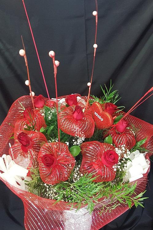 זר פרחים מס' 41