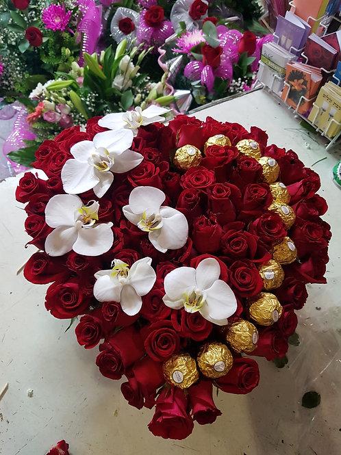 סידור פרחים מס' 83