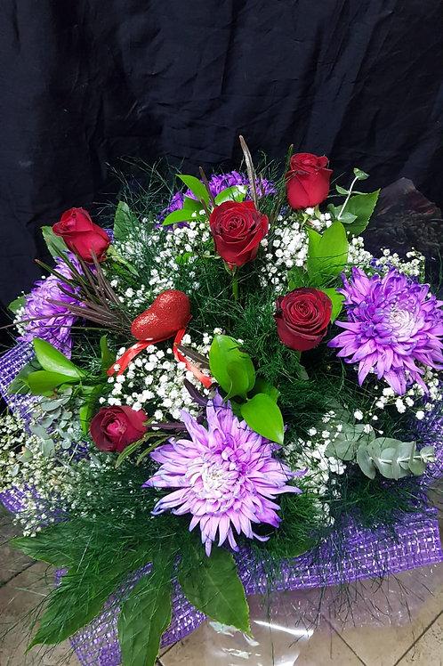 זר פרחים מס' 37