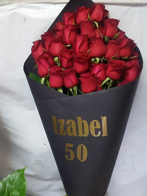 זר פרחים מס' 32