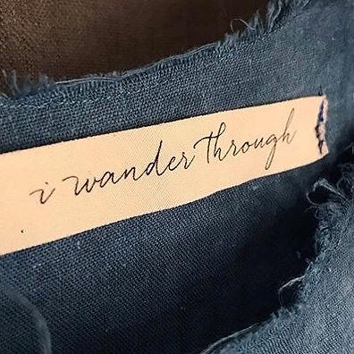 i wander through