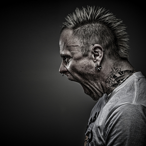 Keith Flint fins - Limited Edition