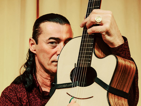 Lulo Reinhardt swings by Wentworth Falls Thursday July 13th bringing some very exciting musicians al