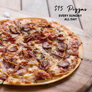 $15 Pizzas