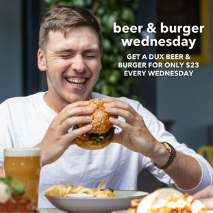 Beer & Burger deal!
