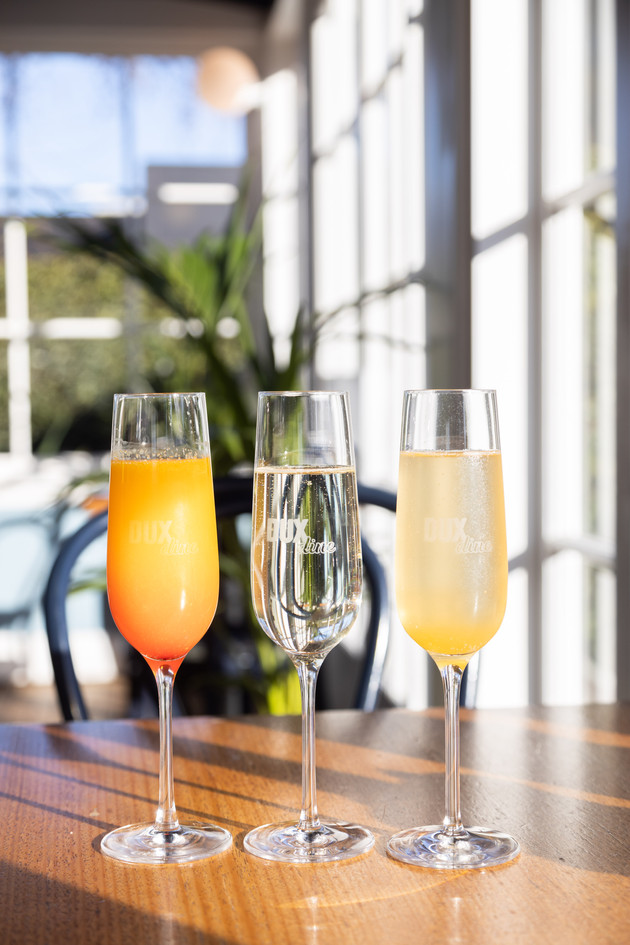 Lux Lunch | Bottomless Bubbles