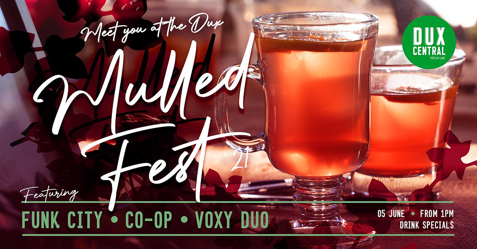 Mulled wine event in Christchurch