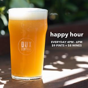 Happy Hour everyday!