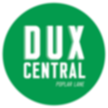 Dux Central White on Green Logo CLear cu