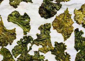 Melt-In-Your-Mouth Mustard Green Chips