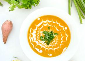 Curried Sweet Potato & Butternut Squash Soup