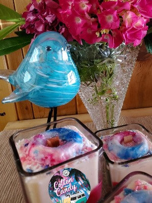 Cotton Candy Wooden Wick