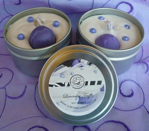 Lavender Truffle Cupcake Tin
