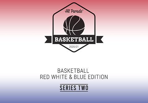 Prizm Basketball Red White & Blue Edition Hobby Box