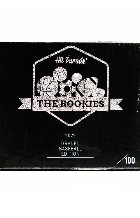 The Rookies Graded Baseball Edition Hobby Box