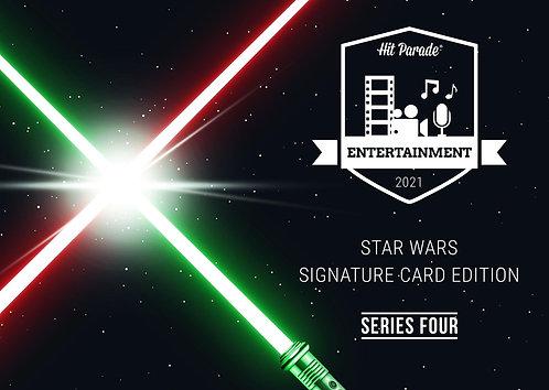 Star Wars Signature Card Edition Hobby Box