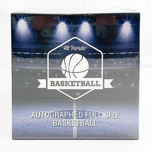 Autographed Full Size Basketball Hobby Box