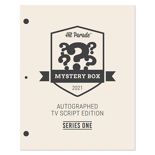 Autographed TV Script Edition Mystery Box
