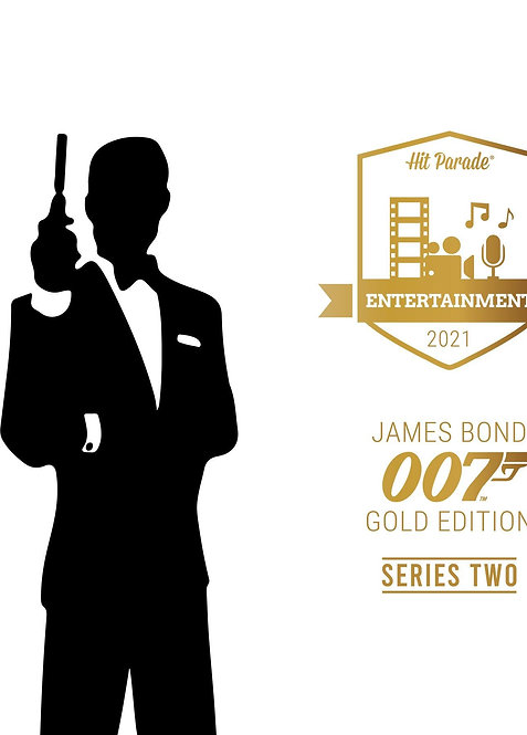 James Bond 007 Gold Edition Hobby Box