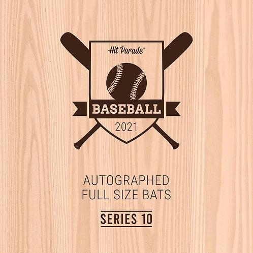 Autographed Baseball Bat Hobby Box