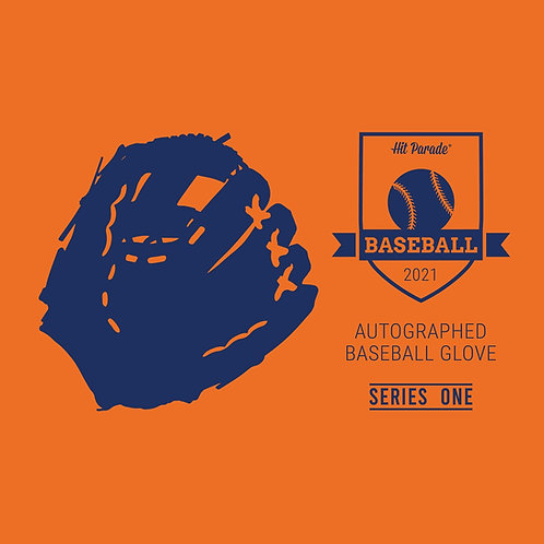Autographed Baseball Glove Hobby Box