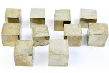 Pyrite, cube